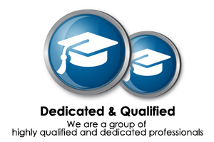 dedicated and qualified accountants